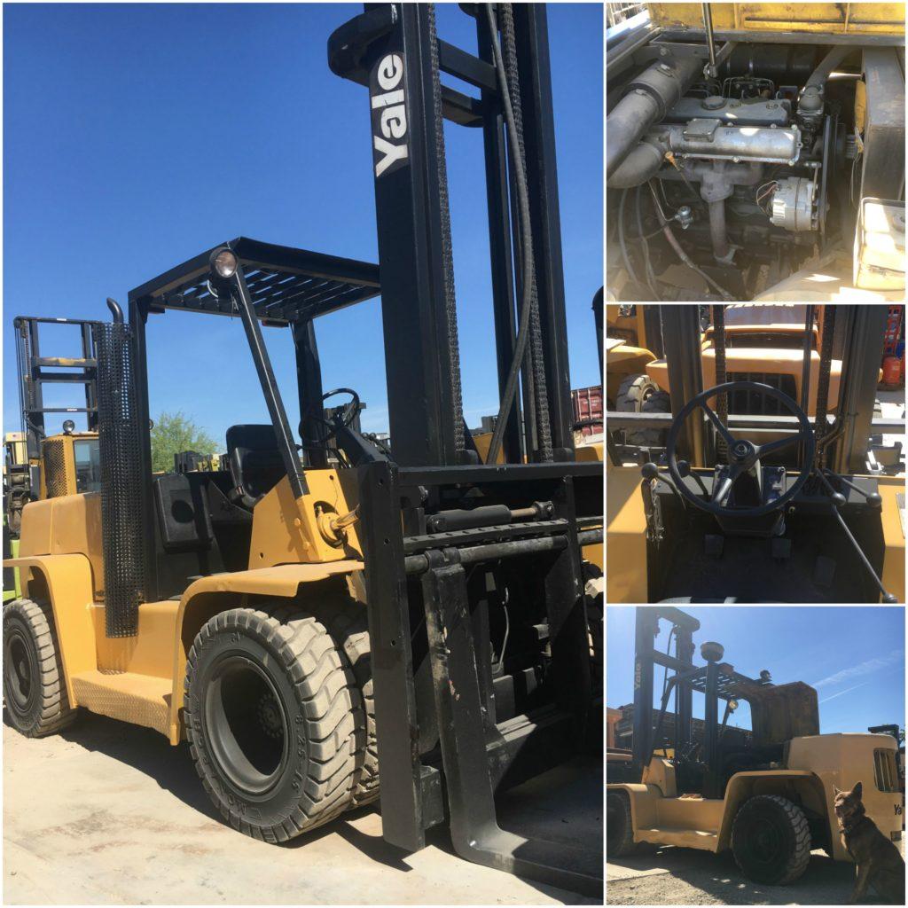 Heavy equipment, Yale Forklift, Forklift